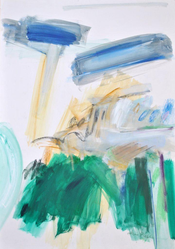 landschap 1992, 100x75