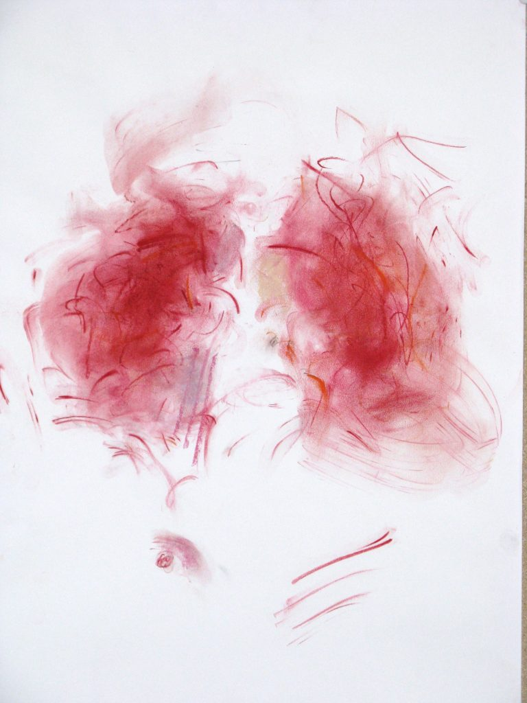 red hair  2009,  40x30