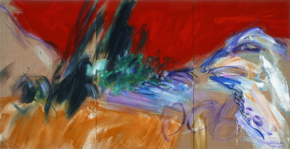 de wachter van de dodenvallei 1985; 140x270